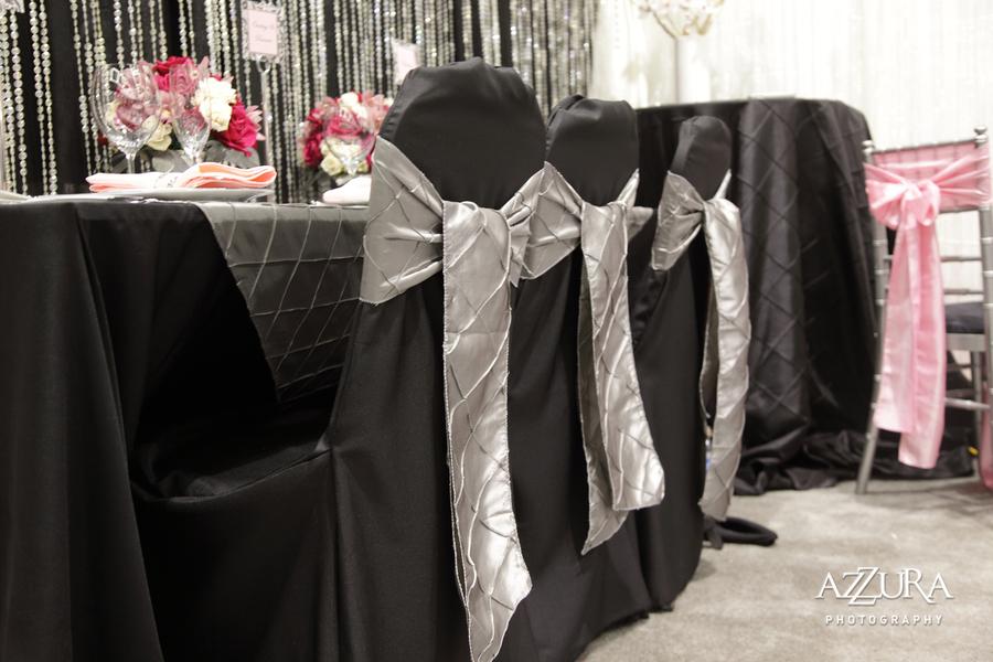 chair sashes platinum designs wedding linens rentals greater